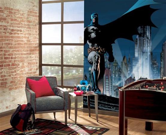 Batman è un tema di arredamento della camera dei bambini molto popolare, soprattutto tra i ragazzi, mentre il tuo bambino si sente come un supereroe