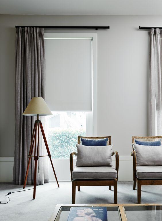 le tende a rullo si adattano facilmente alla maggior parte degli stili di arredamento, compresi quelli più contemporanei e minimalisti