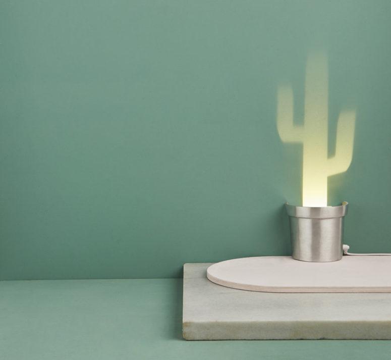 Puoi creare un singolo pezzo o un'intera disposizione di cactus