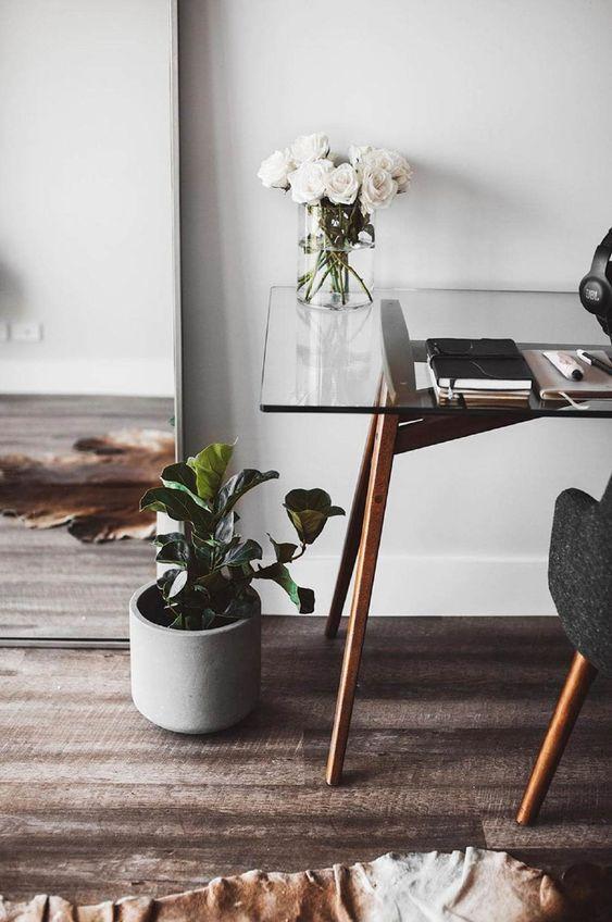 piante e fiori in vaso funzionano sempre per ogni spazio: apportano un tocco naturale