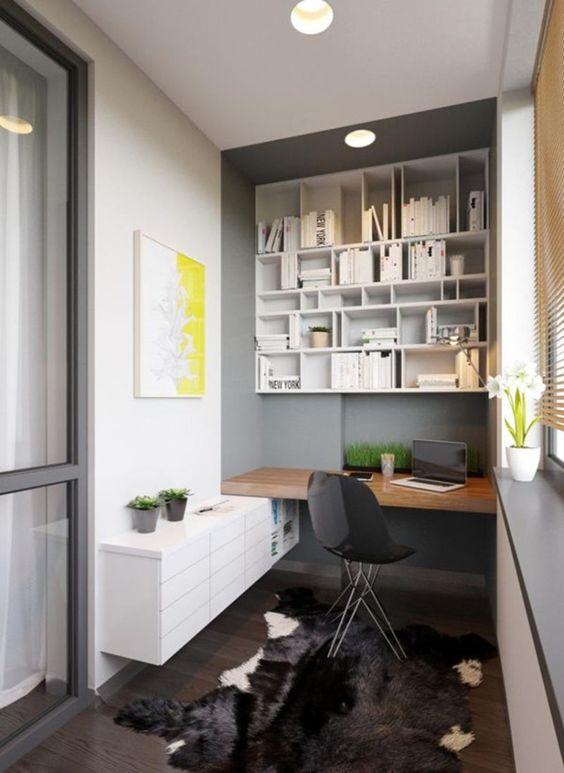 accentua lo spazio del tuo ufficio con un audace tappeto finto animale come qui per intimità e consistenza