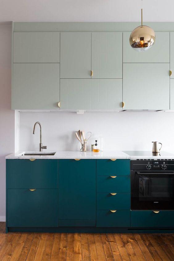 questi tiri accattivanti sono un'idea unica e accattivante, perfetta per una cucina moderna o minimalista