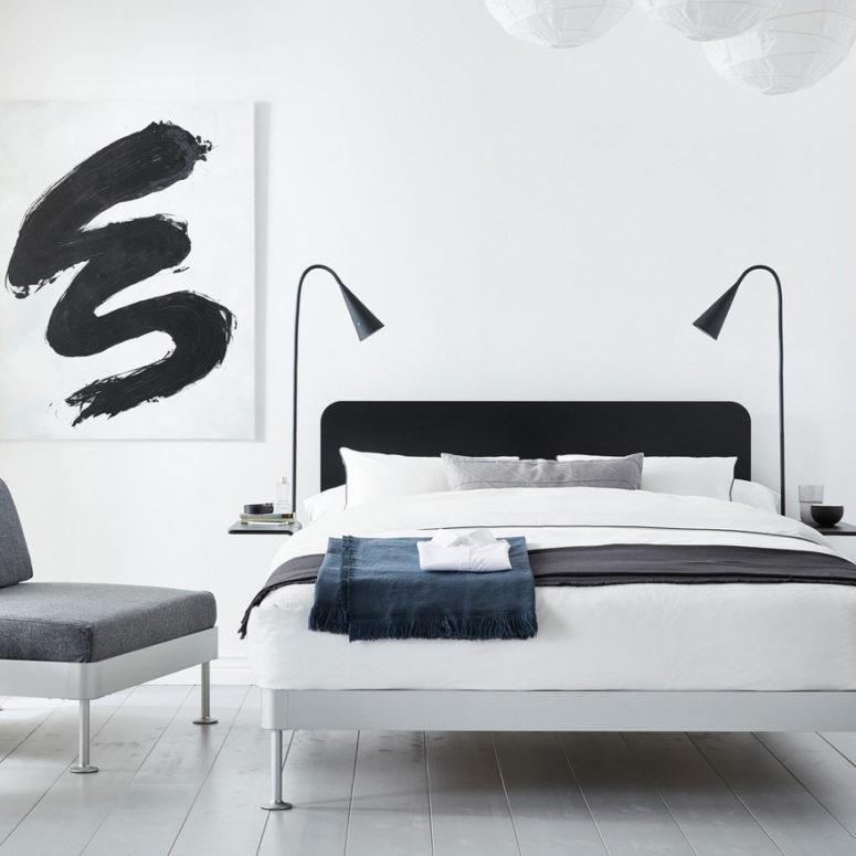 È anche possibile aggiungere luci e galleggiano: faranno risparmiare molto spazio nella tua camera da letto