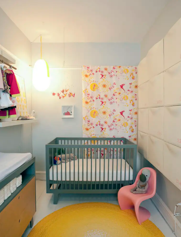 usa IKEA Trones in un asilo nido per conservare tutte le cose di cui tu e tuo figlio potreste aver bisogno