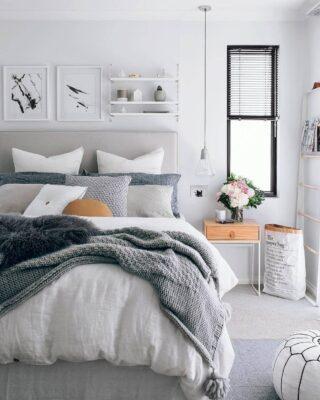 idee per la camera da letto scandinava