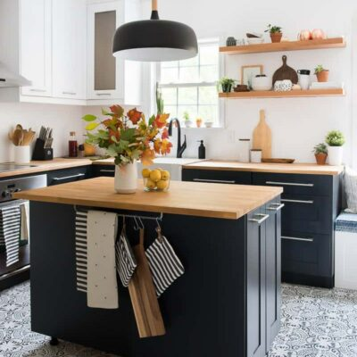 Cucina mid-century in chiave moderna