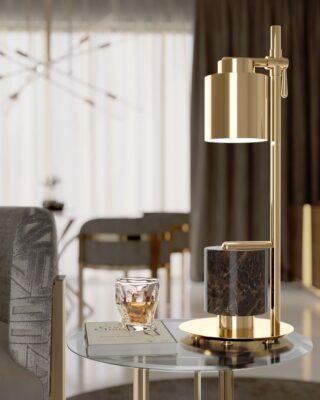 design creativi di lampade da tavolo