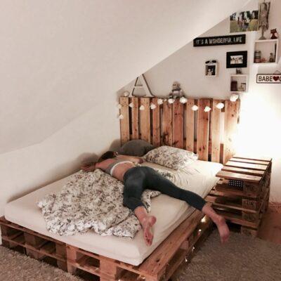 letti pallet e divani letto per interni ed esterni