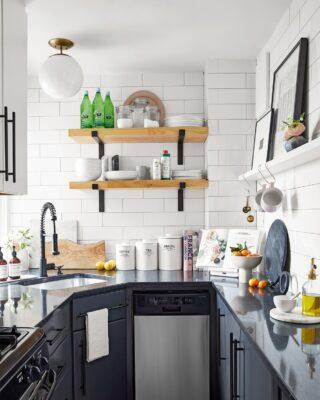 Piccola cucina: idee per arredare piccoli spazi
