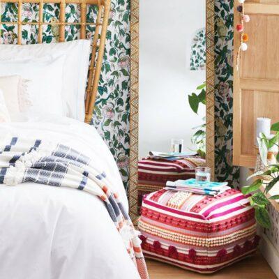 arredamento camera da letto eclettica
