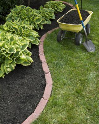 bordure aiuole giardino