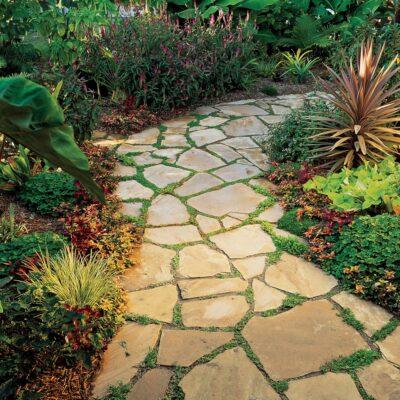 vialetti da giardino in pietra